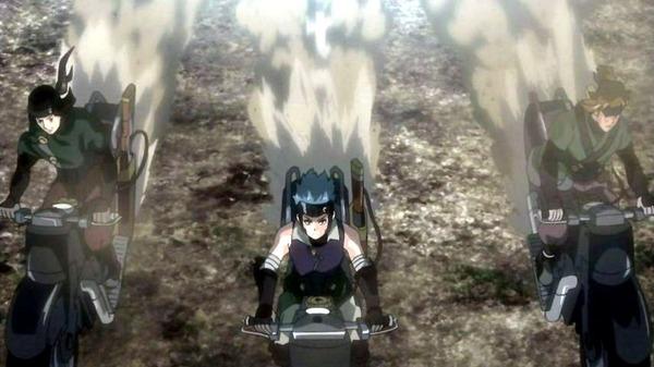 9 狩方衆 バイク