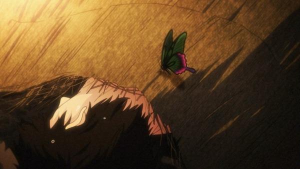 11 無名 回想 死体に蝶