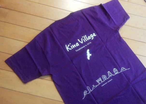2016.10Kina VillageTシャツ