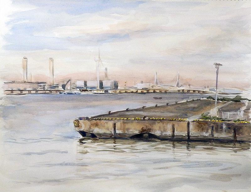 埠頭(横浜)-2