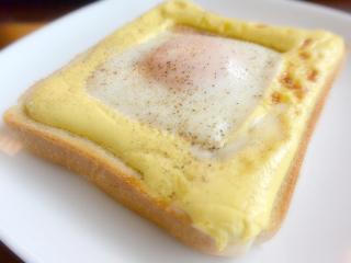 手抜きトースト