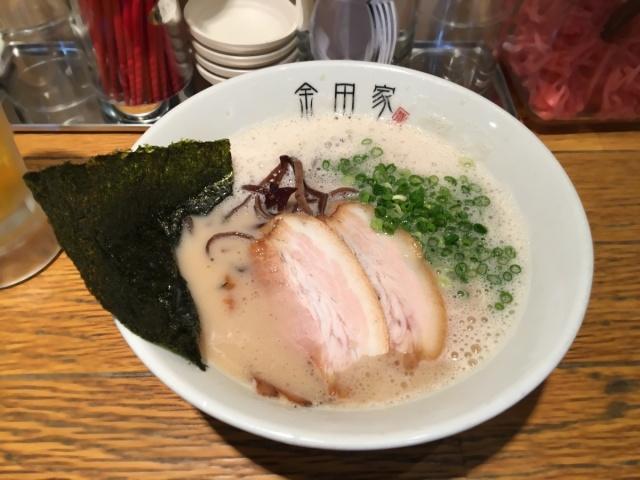 黒豚とんこつ金田家 キャナルシティ博多店 (9)