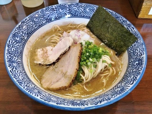 煮干し中華蕎麦 山崎 (11)