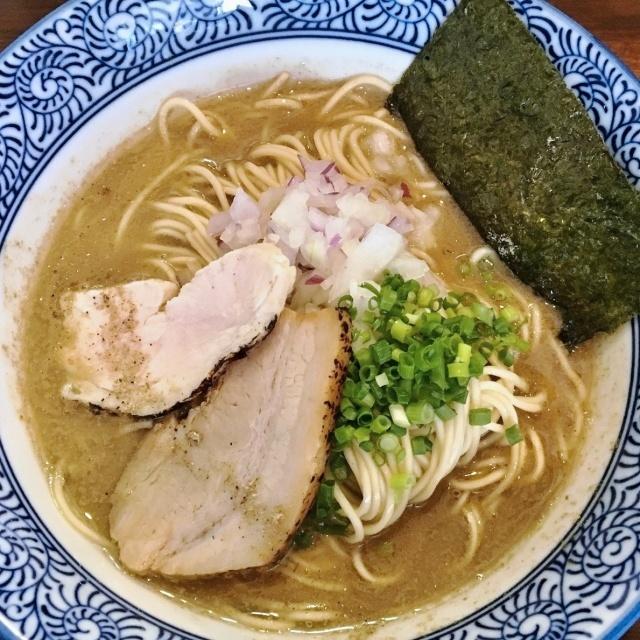 煮干し中華蕎麦 山崎 (12)