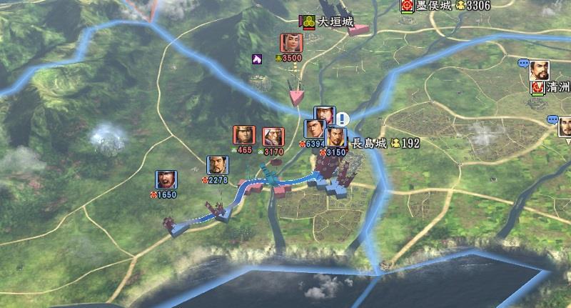 信長の野望創造戦国立志伝 長島城攻めに伊勢より援軍