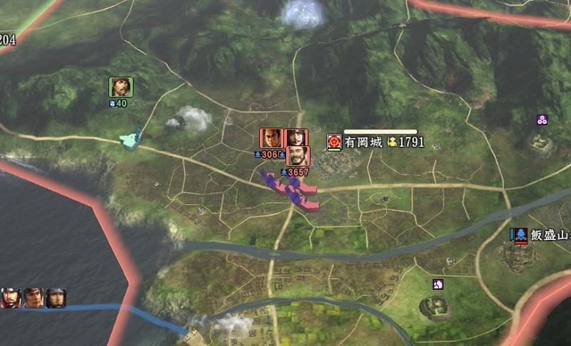 有岡城は力尽きそう 信長の野望創造戦国立志伝