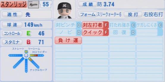 実況パワフルプロ野球2016ver1.03スタンリッジ パワプロ