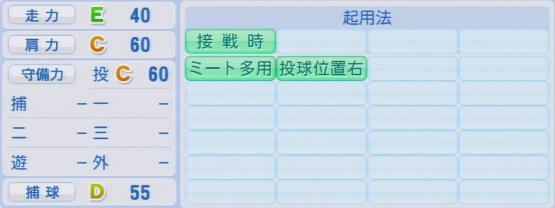 実況パワフルプロ野球2016ver1.03大谷 智久パワプロ