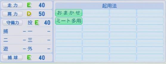 実況パワフルプロ野球2016ver1.03古谷 拓哉パワプロ2016