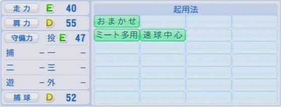 実況パワフルプロ野球2016ver1.03香月 良仁パワプロ2016
