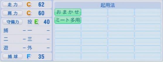 実況パワフルプロ野球2016ver1.03原 嵩パワプロ