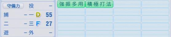 実況パワフルプロ野球2016ver1.03青松 慶侑パワプロ