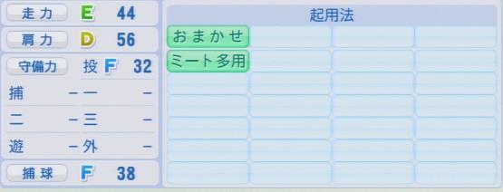 パワプロ2016 歳内宏明 1.03&1.04