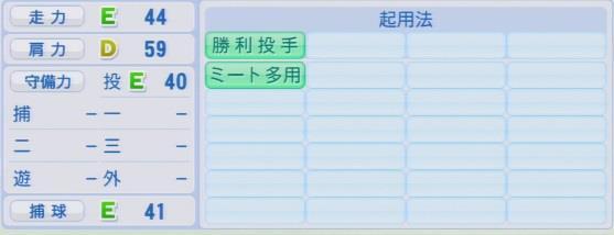 パワプロ2016 岩本輝 1.03&1.04