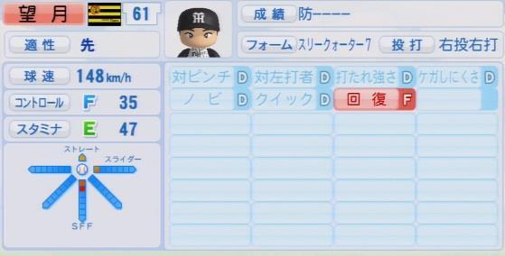 パワプロ2016 望月惇志 1.03&1.04