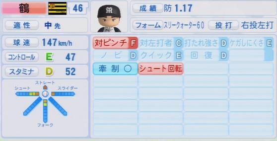 パワプロ2016 鶴直人 1.03&1.04