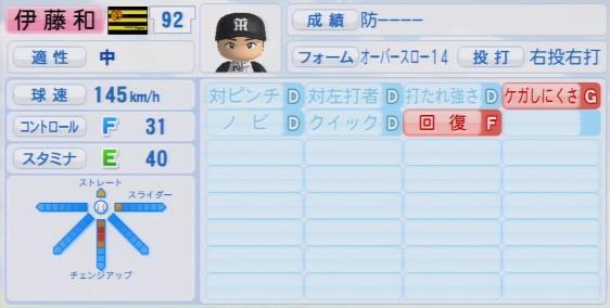 パワプロ2016 伊藤和雄 1.03&1.04