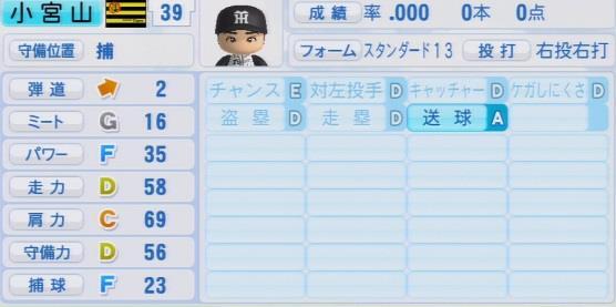 パワプロ2016 小宮山慎二 1.03&1.04
