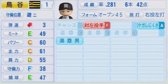 パワプロ2016 鳥谷敬 1.03&1.04