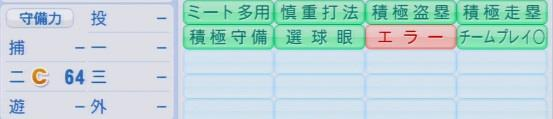 パワプロ2016 上本博紀 1.03&1.04
