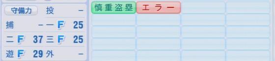 パワプロ2016 西田直斗 1.03&1.04