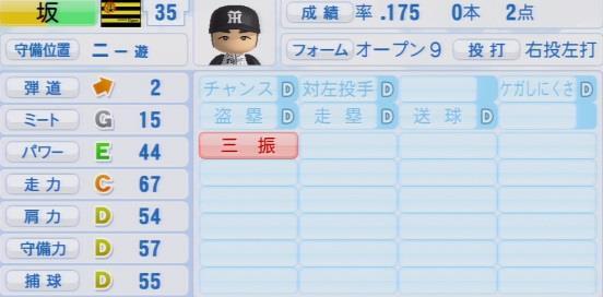パワプロ2016 坂克彦 1.03&1.04