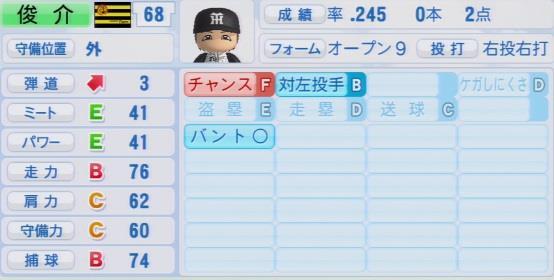 パワプロ2016 俊介 1.03&1.04
