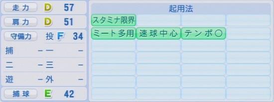 パワプロ2016 髙橋光成 1.03&1.04