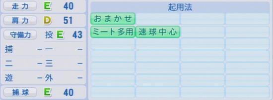 パワプロ2016 多和田真三郎 1.03&1.04