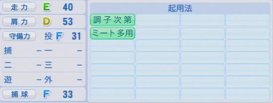 パワプロ2016 佐藤勇 1.03&1.04
