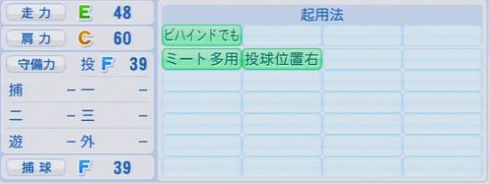 パワプロ2016 中﨑雄太 1.03&1.04