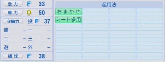 パワプロ2016 南川忠亮 1.03&1.04