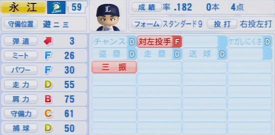 パワプロ2016 永江恭平 1.03&1.04