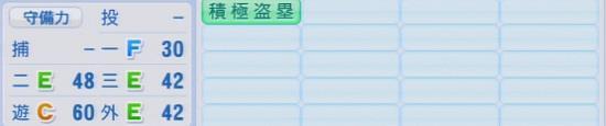 パワプロ2016 木村昇吾 1.03&1.04守備適正