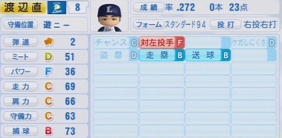 パワプロ2016 渡辺直人 1.03&1.04
