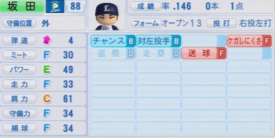 パワプロ2016 坂田遼 1.03&1.04