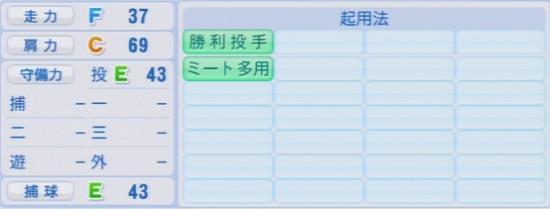 パワプロ2016 横山弘樹 1.03&1.04