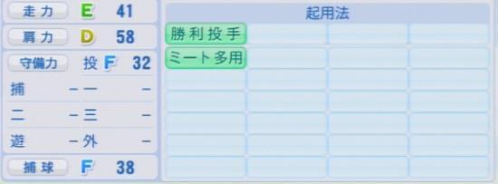 パワプロ2016 今井啓介 1.03&1.04