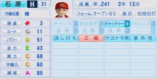 パワプロ2016 石原慶幸 1.03&1.04