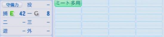 パワプロ2016 中村亘佑 1.03&1.04守備適正