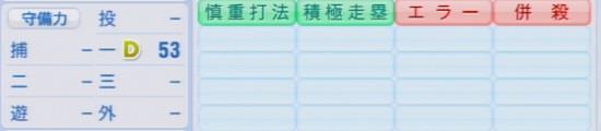 パワプロ2016 新井貴浩 1.03&1.04守備適正