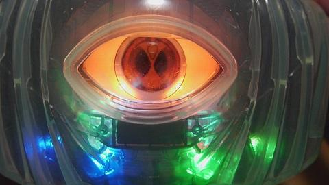 仮面ライダーゴースト ドーストドライバーLED拡張キット発光