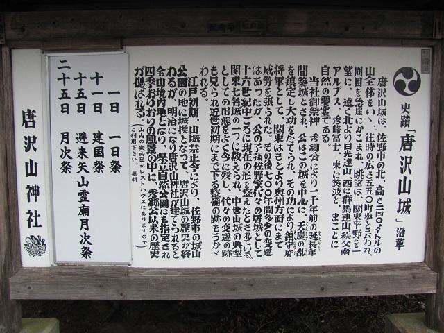 唐沢山2010D