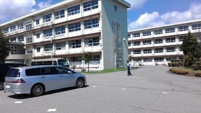 飛騨神岡高校訪問