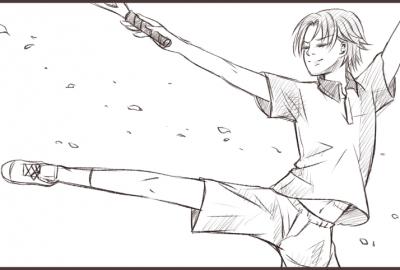 氷帝跡部バレエ