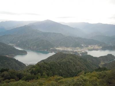 高取山から宮ケ瀬湖161025