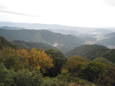 高取山から宮ケ瀬ダム161025