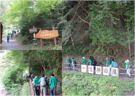 マルヤマ木材・森林散策