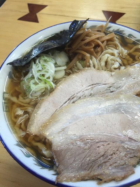 ケンちゃんラーメン 三川店 中華そば 小盛 うす口