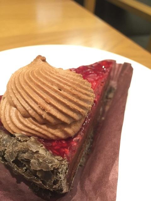 スターバックスコーヒージャパン ラズベリーチョコレートパイ